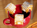 Free Cake Houses Hanging On The Cup Stock Image - 19078991