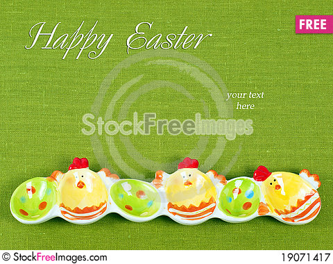 Free Easter Composition Royalty Free Stock Photography - 19071417