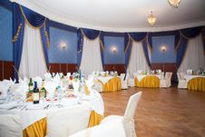 Free Banquet Hall Royalty Free Stock Photo - 19070205