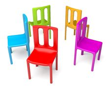 Free Color Chairs Stock Images - 19070224