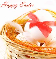 Free Easter Eggs Stock Photography - 19070272