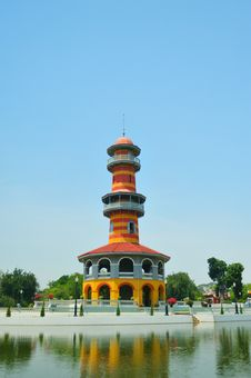 Free Tower In Bang Pa In Palace Royalty Free Stock Photography - 19071207