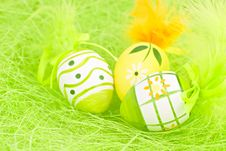Free Easter Eggs. Stock Image - 19071421