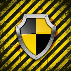 Free Shield. Vector. Royalty Free Stock Photography - 19071587