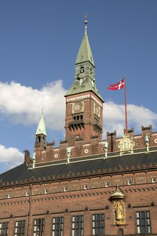 Free Copenhagen City Hall Stock Image - 19072101