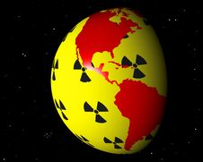 Free Nuclear America Brasil Royalty Free Stock Photo - 19072555