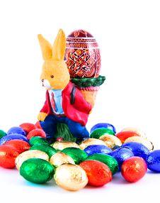 Free Easter Rabbit. Royalty Free Stock Photo - 19074615