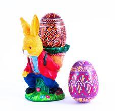 Free Easter Rabbit. Royalty Free Stock Image - 19074836