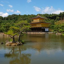 Free Kinkakuji,Temple Stock Images - 19076054