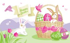 Free Easter Illustration Stock Photo - 19076200