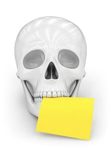 Free Skull Royalty Free Stock Photos - 19076968