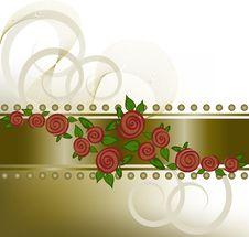 Free Roses On The Horizontal Strip Stock Image - 19077311