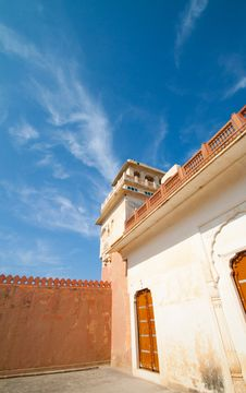 A House In Rajasthan Stock Photos