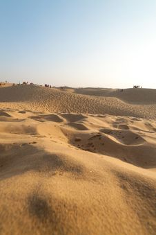 Free Sand Dunes Rajasthan Royalty Free Stock Photos - 19077388