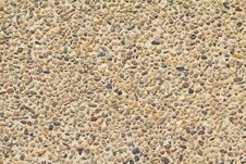 Pebble Stone Texture. Stock Photo