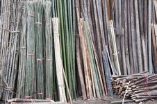 Free Wood And Bamboo Materials Stock Photography - 19077612