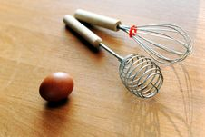 Free Egg And Whisks Stock Photography - 19077732