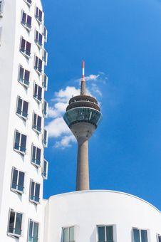 Free Rheinturm Tower Dusseldorf Stock Photo - 19077770
