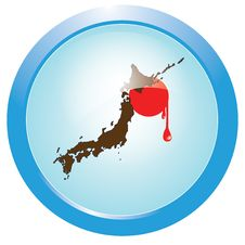 Free Bleeding Japan Royalty Free Stock Photography - 19077897