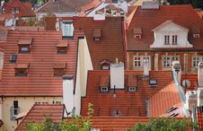 Free The Roofs Of Prague Royalty Free Stock Photos - 19078488