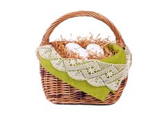 Free Decorated Easter Basket Stock Photos - 19078513