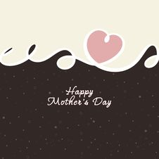 Free Mother S Day Card Royalty Free Stock Photos - 19078548