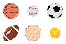 Free Set Of Balls Stock Photography - 19079342