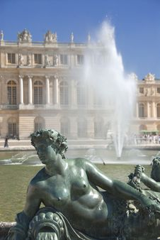 Free Royal Residence Versailles Fountain Stock Photos - 19079493