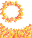 Free Elements On Fire, Sun Royalty Free Stock Images - 19080149