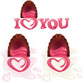 Free Heart Shaped Chocolate Pralines Royalty Free Stock Image - 19082566