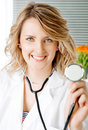 Free Doctor Smiling Stethoscope Stock Photos - 19088733