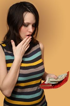 Free This All Money Which Remained With Me Stock Image - 19080611