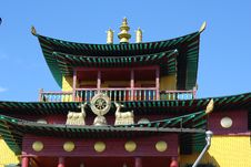 Free Design Elements Of Buddhist Temple Stock Photos - 19080873
