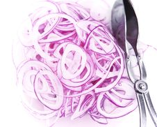 Free Red Onions Stock Image - 19082151