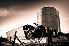 Free Destroyed Building Royalty Free Stock Photo - 19082905