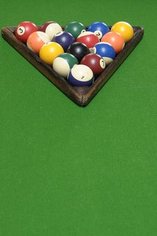Free Billiard Balls Stock Image - 19084091