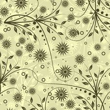 Free Decorative Floral Pattern Royalty Free Stock Image - 19084816