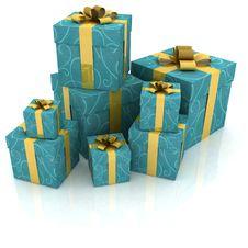 Free Gift Royalty Free Stock Photo - 19084945