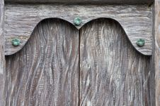 Free Wooden Door Frame Background Royalty Free Stock Photos - 19085178