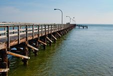Free Fishing Pier Stock Images - 19086204