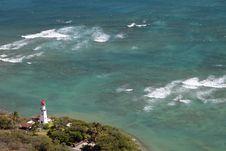 Free Diamond Head Lighthouse - Hawaii Royalty Free Stock Photo - 19086535