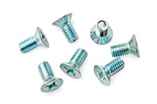 Some Galvanized Bolts Royalty Free Stock Image