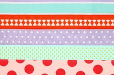 Free Colorful Textile Background Royalty Free Stock Photo - 19089885