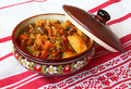 Free Pot With The Stewed Green-stuffs Royalty Free Stock Image - 19091746