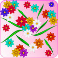 Free Creative Floral Background Royalty Free Stock Image - 19095546