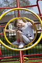 Free Girl On Playground Stock Images - 19099604