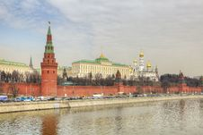 Red Square In Moscow City Russia.