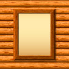 Free Wooden Framework On A Wall Royalty Free Stock Image - 19092356