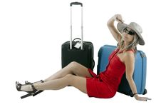 Traveling Woman Stock Photos