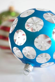 Free Christmas Ornaments Royalty Free Stock Image - 19093156